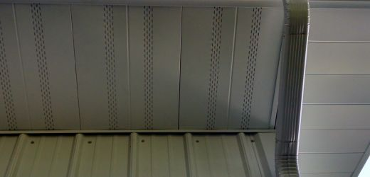 SW-16 Soffit / Wall Panel - Rolled Steel Products